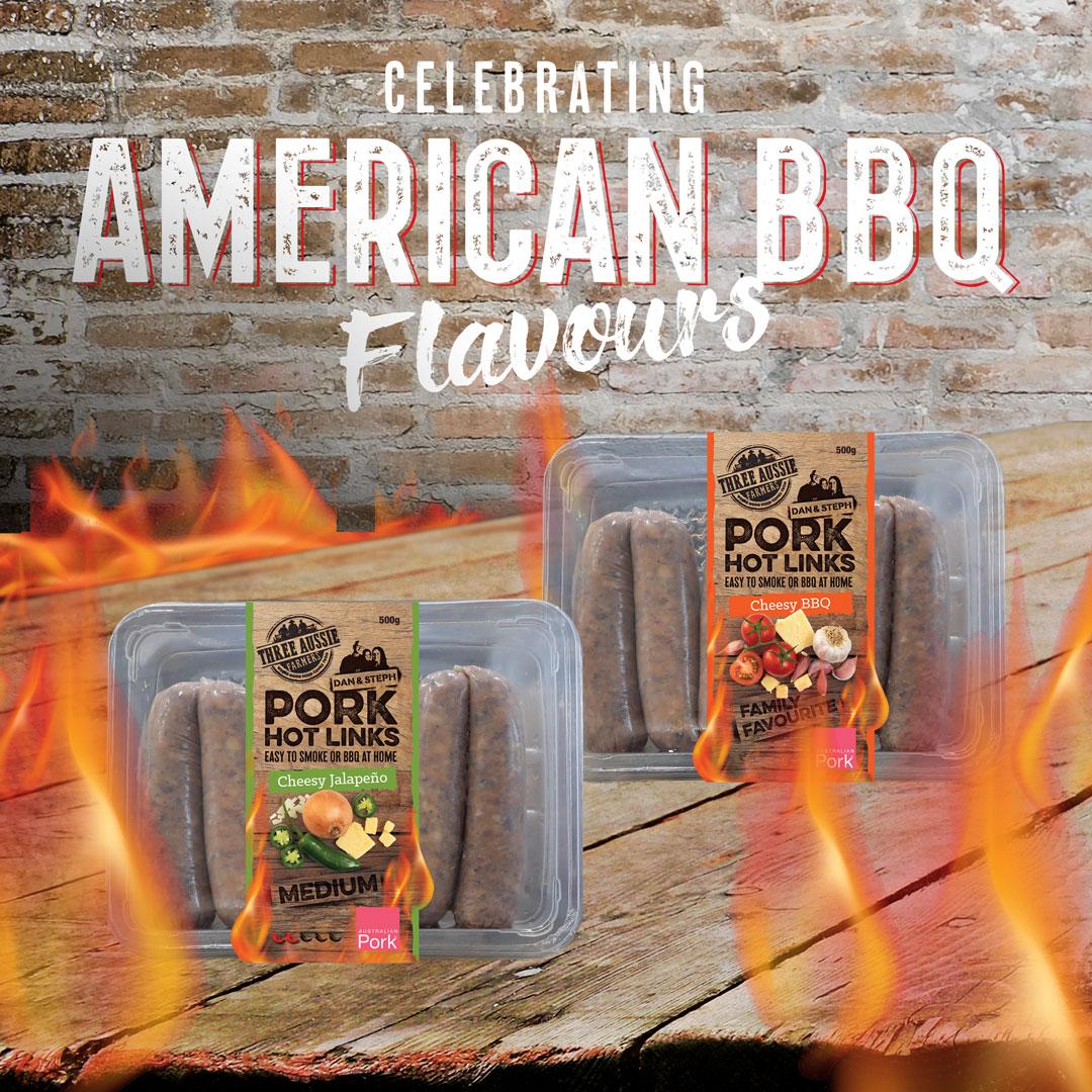 Celebrating American BBQ Flavours - Pork Hot Links