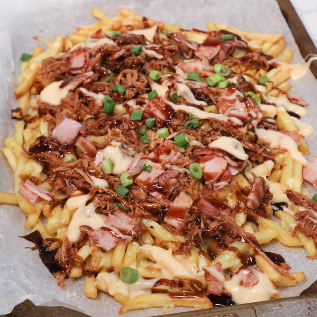Loaded Pulled Pork Fries